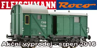 Srpnov� v�prodej ROCO Fleischmann