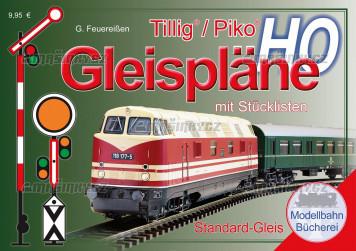 H0 - Plánky kolejišť Tillig/Piko
