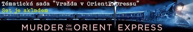 """Exkluzivní set """"Vražda v OrientExpressu"""""""