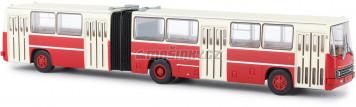 H0 - Kloubový autobus Ikarus 280.2 - červená/bílá