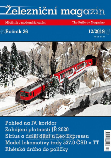 Železniční magazín 12/2019 #1