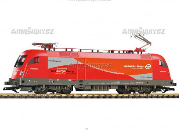 H0 - Elektrická lokomotiva Taurus Gebrüder Weiss - ÖBB