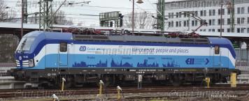 N - Elektrická lokomotiva řady 193 - ČD (analog)