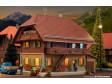 H0 - Venkovský dům s LED osvětlením