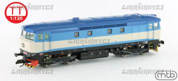 TT - Diesel-elektrická lokomotiva 749 259 - ČD (analog)