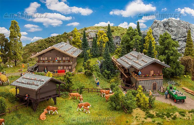 H0 - Akční set - Alpská vesnice #1