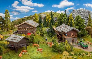 H0 - Akční set - Alpská vesnice