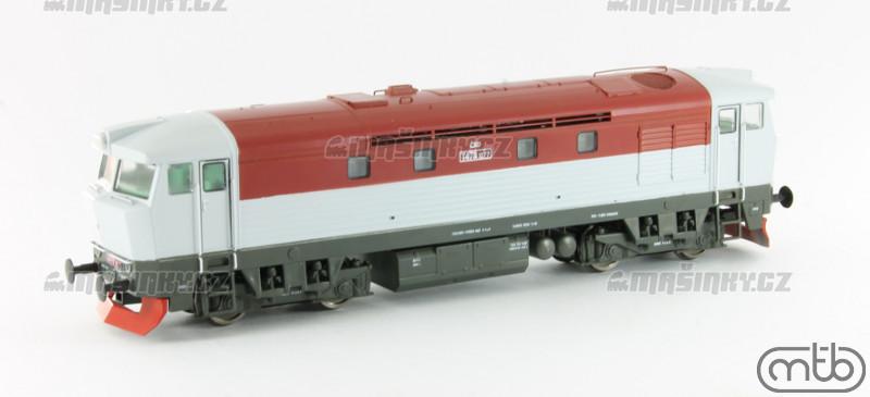H0 - Dieselová lokomotiva T478.1077 - ČSD (analog) #1