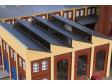 H0 - Pultová střecha žlutá