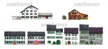 Alpské stavby - CD s obrázky k tisku