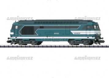 N - Dieselová lokomotiva série BB 67400 SNCF (DCC, zvuk)