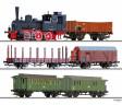 TT - Set vlaku BR 89 s nákladním a osobními vozy - DR (analog)