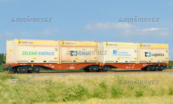 TT - Kontejnerový vůz Sggrss 55 ČDC