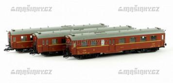 """TT - Set tří osobních vozů """"Altenberg"""" - ČSD"""