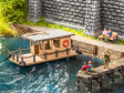 H0 - Hausboot - Laser-Cut minis