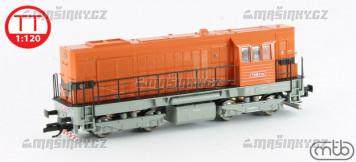 TT - Dieselová lokomotiva T448.0795 - ČSD (analog)