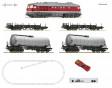 H0 - Digitální start set s diesel. lokomotivou BR 142(ozvučená) a 4 nákladními vozy, DR