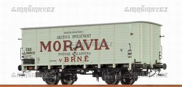 """H0 - Uzavřený vůz Lp """"Moravia"""" - ČSD"""
