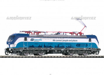 "TT - Elektrická lokomotiva  Vectron ""Prag-Berlin-Hamburg"" - ČD (analog)"