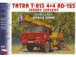 H0 - Tatra 813 4x4 AD125  (stavebnice)