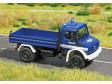 H0 - Mercedes Unimog THW, s modrými blikajícími světly