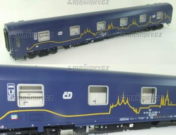 H0  - Lůžkový vůz WLABmee - JVL - CD