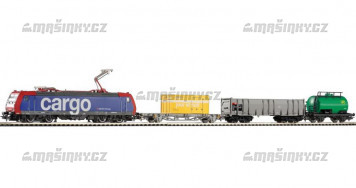 H0 - Analogový start set s el. lokomotivou