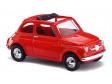 H0 - Fiat 500 F, červený