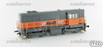 H0 - Diesel-elektrická lokomotiva řady 740 842 - AWT (analog)