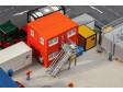 H0 - 4 kontejnery, oranžové