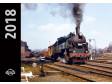 Kalendář nástěnný 2018 lokomotivy (malý)