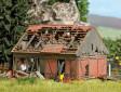 H0 - Zchátralá stodola