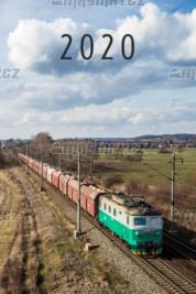 Nástěnný kalendář moderní trakce 2020