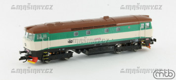 TT - Diesel-elektrická lokomotiva řady 749 264 - ČD (analog)