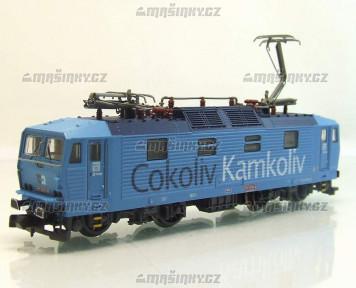 """N - Elektrická lokomotiva řady 372 """"Šmoulinka"""" - ČD Cargo (analog)"""