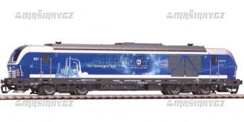 TT - Dieselová lok. BR 247 Vectron, InfraLeuna (analog)
