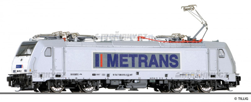 TT - Elektrická lokomotiva METRANS Rail s.r.o. (CZ) (analog) #1