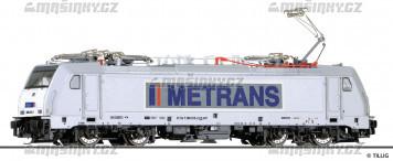 TT - Elektrická lokomotiva METRANS Rail s.r.o. (CZ) (analog)