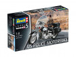Plastic ModelKit motorka - US Police Motorbike (1:8)
