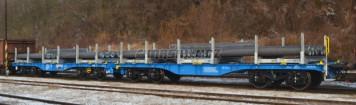 H0 - Innofreight 8 osý plošinový vůz  - CD Cargo