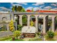 H0 - Dvoukolejný obloukový viadukt