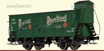 """N - Uzavřený pivní vůz L """"Pilsener Urquell"""" - ČSD"""