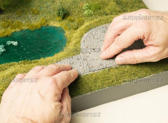 """H0 - 3D strukturovaná fólie """"Nepravidelné zdivo"""" #4"""