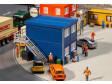 H0 - 4 kontejnery, modré
