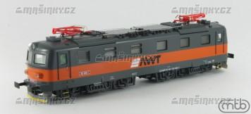 H0 - Elektrická lokomotiva řady 181 - AWT (analog)