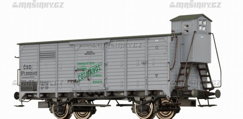 """H0 - Uzavřený vůz Gg """"Cosmanos"""" - ČSD #1"""