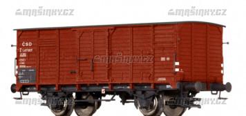 N - Uzavřený vůz Z - ČSD