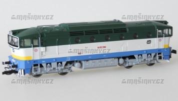 TT - Dieselová lokomotiva 753 001 - ČD (analog)