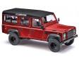 H0 - Land Rover Defender 'Metallica', červený