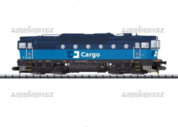 """N - Motorová lokomotiva """"brejlovec"""" ČD CARGO (DCC, zvuk)"""